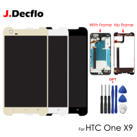 For HTC One X9 LCD Display Touch Screen Digitizer Assembly Mobile Phone Replacement Repair Parts Original 5.5 with/no Frame