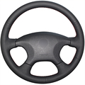 Black  Artificial Leather Car Steering Wheel Cover for Citroen Elysee c-elysee Citroen Xsara Picasso