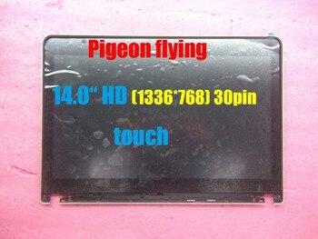 "for Thinkpad E440 LCD Screen 14.0"" 30pin 1336*768(HD) touch 30pin  FRU 04X4197 04X4200 04X4199 04X4198 100%Original"