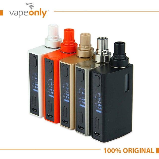 Original 80 w egrip joyetech ii vaping vaporizador kit con 2100 mah y 2 ml/3.5 ml egrip 2 fit kit notchcoil/bf/rba bf bobina