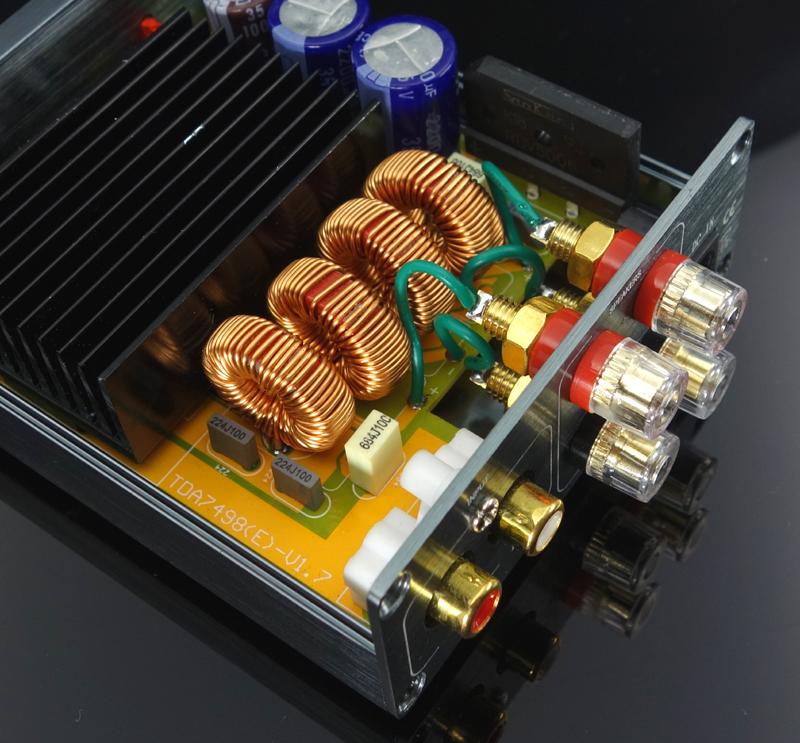 Clase de estéreo amplificador 2
