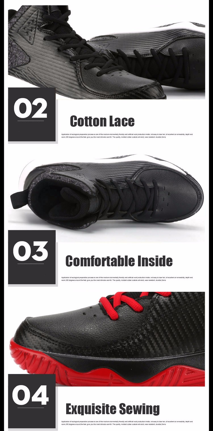 High Top Mens Shoes Casual Lace Up Breathable Trainers Spring Autumn Sport Black White Red Basket Shoes Outdoor Size 39-44 YD43 (16)