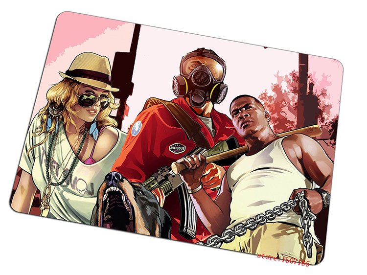 Grand Theft Auto mouse pad GRA Cartoon pad to mouse game computer mousepad gaming padmouse gamer to laptop keyboard mouse mats