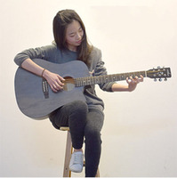 40 Inch 41 Inch Folk Guitar Beginner Student Female Male Entry Practice Guitar Instrument
