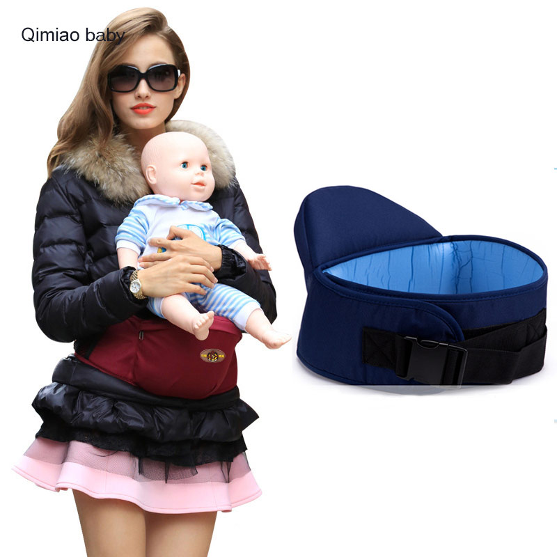 6-36 Months Cotton Baby Carrier Breathable Infant Backpack Sling Portable Waist Stool For Mom Outdoors Ergonomic Hip Seat Wrap