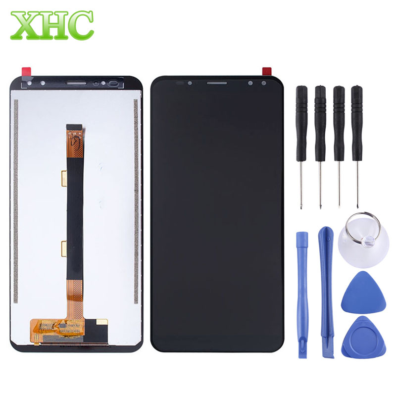 Ulefone Power 3s Replacement LCD display touch screen digitizer assembly for Ulefone Power 3s Spare Parts