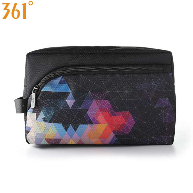 361 Waterproof Sports Bag Gym Handbag Black Swimming Bags Dry Wet Separate Storage Bag 10L Travel Camping Pool Beach Unisex
