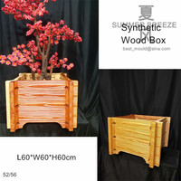 60cm (23.62 in) Gardening & Urban Construction Synthetic Wood Box Mold