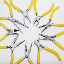 Multifunctional Hand Tools Jewelry Pliers Equipment Round Nose End Cutting Wire Pliers For Jewelry Making Handmade Accessories 52 holes tungsten carbide wire drawplate for jewelry making round 0 26 4 10mm jewelry tools