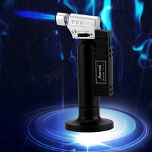 Outdoor Torch Turbo Lighter Jet Butane Cigar Lighter Gas Cigarette 1300 C Spray Gun Fire Windproof Pipe Lighter cigar spray lighter windproof and blue fire pipe lighter cigar cigarette lighter men s business gift