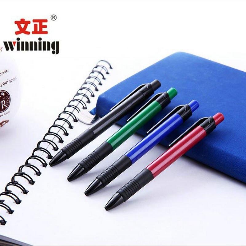 4 шт. шариковая ручка Студенты ручка Офис ручка Нажмите пером по бумаге
