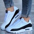 Los hombres Zapatos Casuales Zapatillas Deportivas Hombre de Aire Zapatos de Los Pares de Los Hombres Amantes de Los Zapatos Zapatos Mujer Canasta Femme Sapatos Masculino