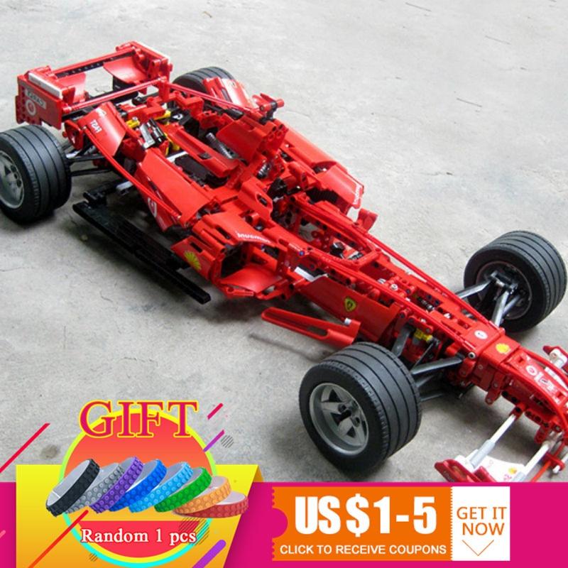 3335 1242pcs Formula Racing Toy building 1:8 car model self-locking Compatible Toys lepin new bricks 1242pcs f1 formula racing toy building 1 8 car model self locking compatible 3335 toys lepin