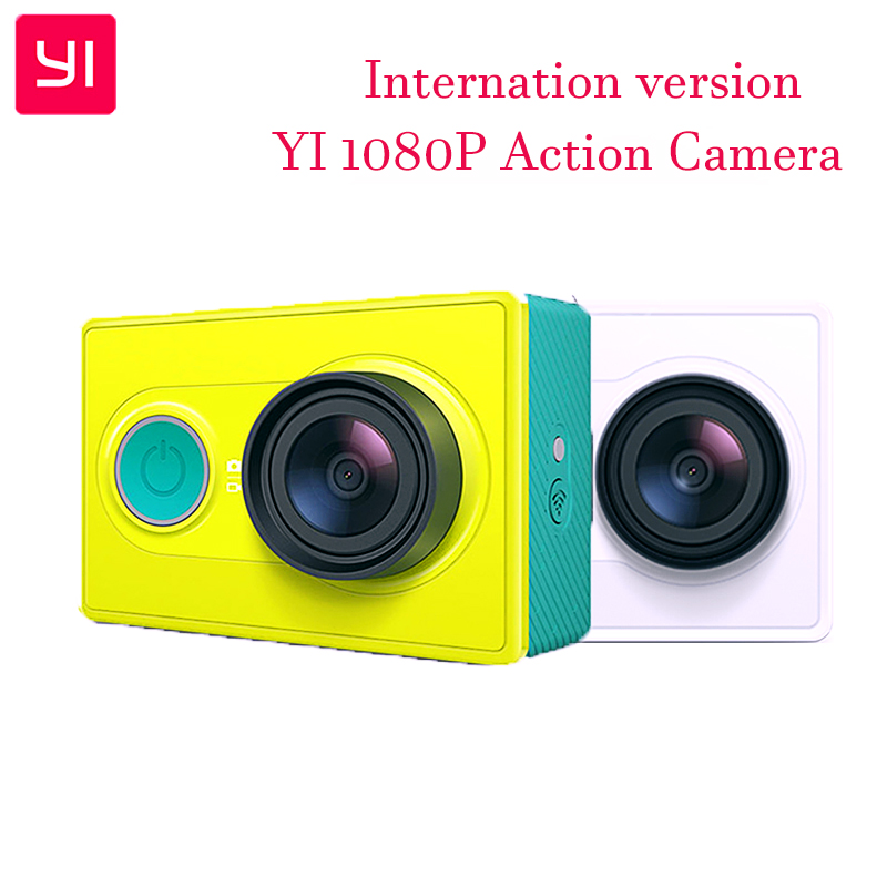 Original Xiaomi YI Sports Camera WiFi 3D Noise Reduction 16MP 60FPS Ambarella Action Camera [International Edition] ...