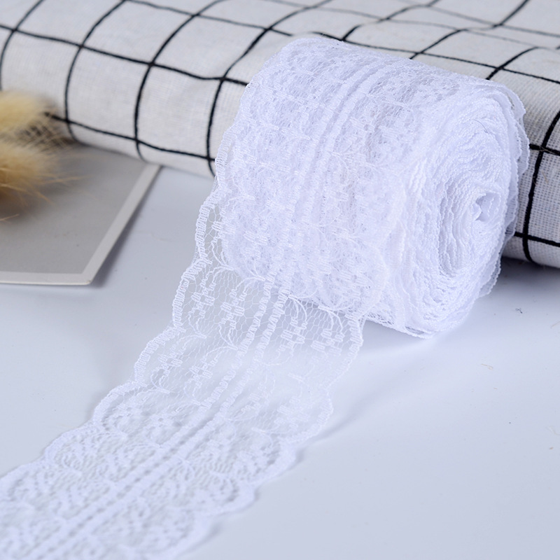Wusmart 4.5cm Tape DIY Lace Trimming Lace Ribbon