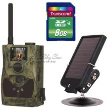 Free Shipping!ScoutGuard SG880MK-12MHD 720P 1.5″ LCD Trail Hunting Game Camera+Solar Battery