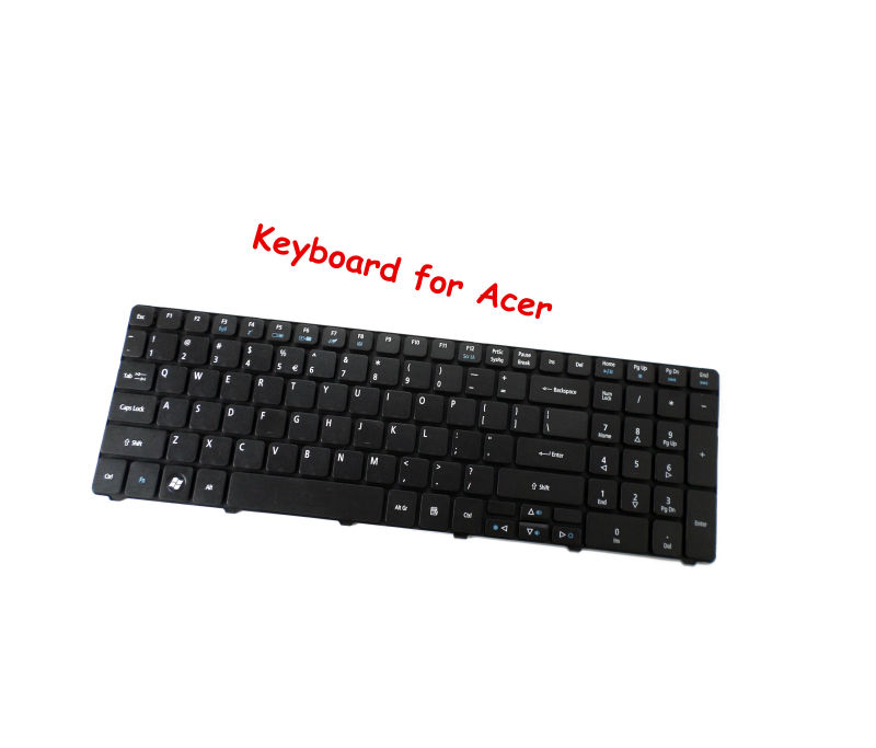 FOR <font><b>Acer</b></font> <font><b>Aspire</b></font> 5410 5410T 5738Z 5738ZG 7736G 7736Z <font><b>7736ZG</b></font> 7535 7735 7736 5739 5739g 7735Z US Keyboard image