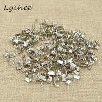 Lychee 3 #5 # Klassische Silber Farbe Metall Eisen Zipper Stopper Für DIY Handwerk Garment Hosen Nähen Zipper Ende zubehör