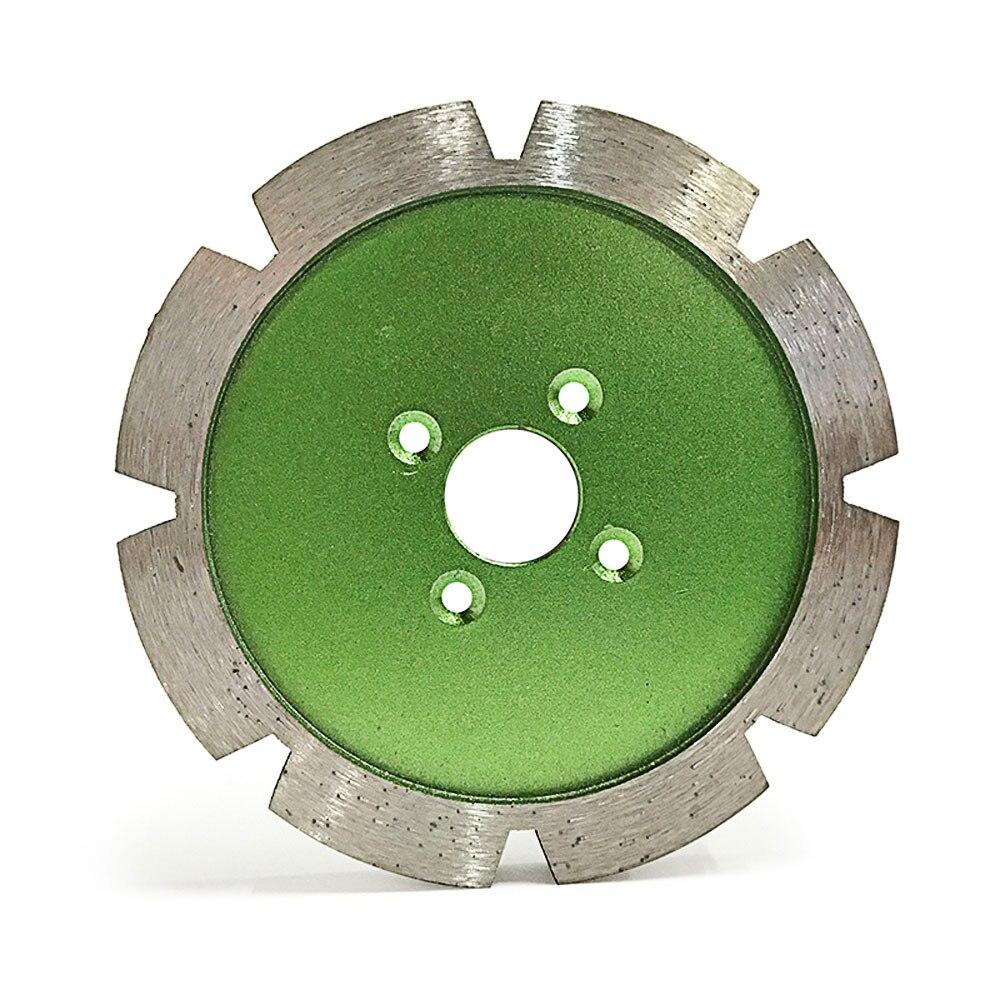 Fritté épaississement coupe disque abrasif diamant sculpture fente diamant lame de scie pour pierre MT016