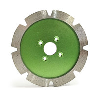 Sintered thickening cutting abrasive disc diamond carving slotted diamond saw blade for stone MT016