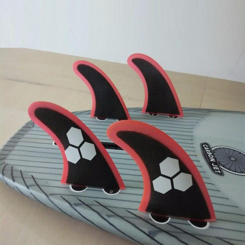 Тегін жеткізу Hot Sale FCS Quad Fins Surfboard Fins FCS - Су спорт түрлері - фото 3