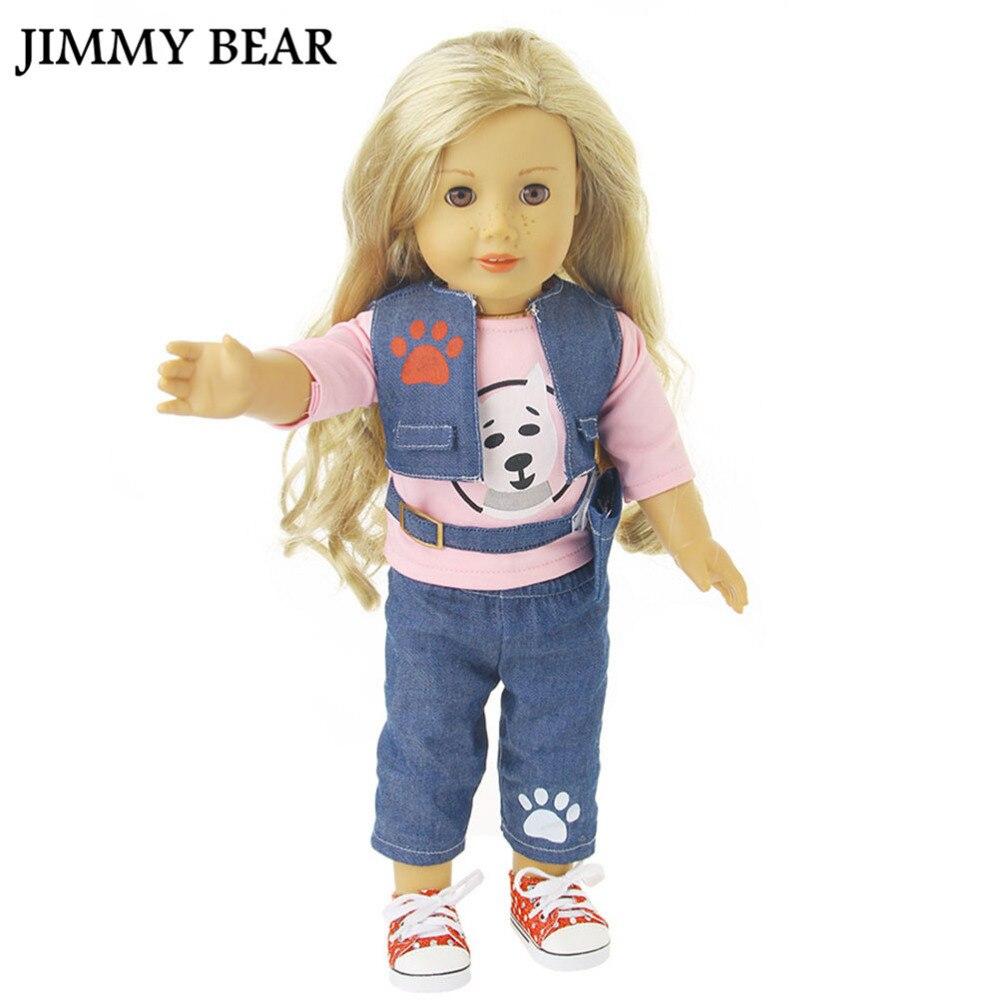 ღ Ƹ̵̡Ӝ̵̨̄Ʒ ღJimmy Bear 1 Unidades 18 pulgadas American Girl muñeca ...