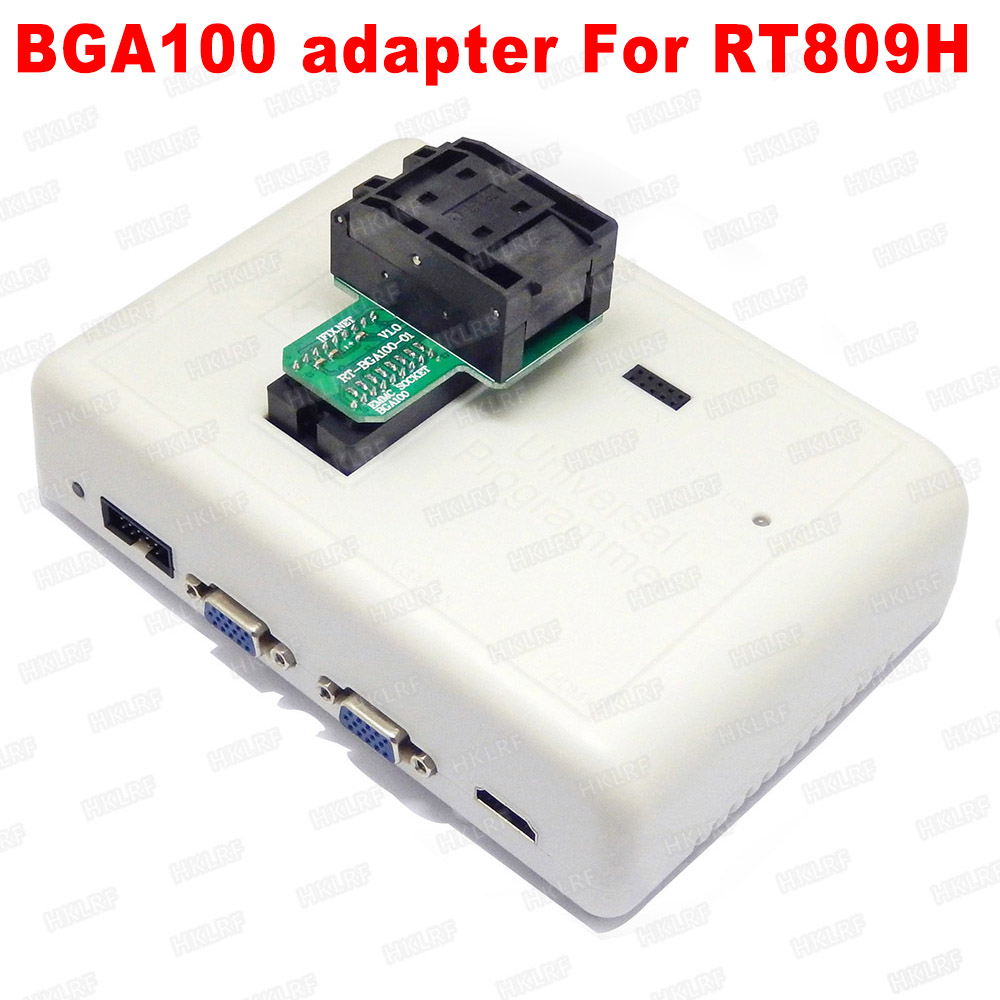 BGA100 Special EMMC Adapter For RT809H Programmer  RT BGA100 01 Socket Original New Free Shipping-in Integrated Circuits from Electronic Components & Supplies
