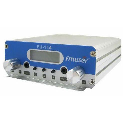 FMUSER 15 Вт CZH-15A ЧЕХИЯ-15A FU-15A стерео PLL трансляция радио fm-передатчик 87 МГц-108 МГц