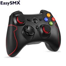 EasySMX ESM-9013 Wireless Gamepad Game joystick Controller Compatible with PC Windows PS3 TV Box Smartphone Console Controller