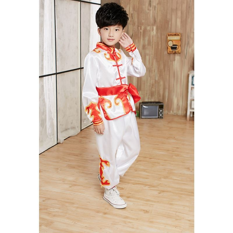 Chinese Traditional Martial Arts Drum Performance Uniforms Martial Arts Uniform Martial Arts Uniforms Samurai Clothing Movement