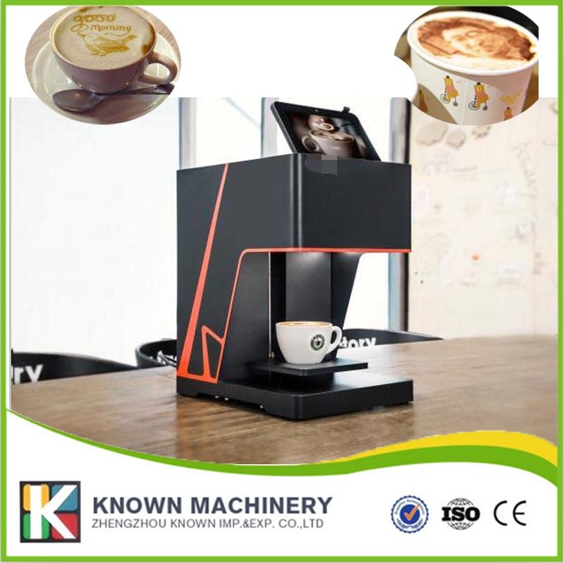 Best seller 3D WIFI coffee printer selfie coffee printer maker machine selfies coffee printer milk tea yogurt cake printing machine with wifi