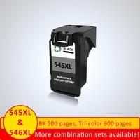 XiangYu PG545 Cartridge Black for Canon MX495 MG 2850 2950 MX 495 Cartridge Ink Pixma printer Ink cartridge PG 545 ip545
