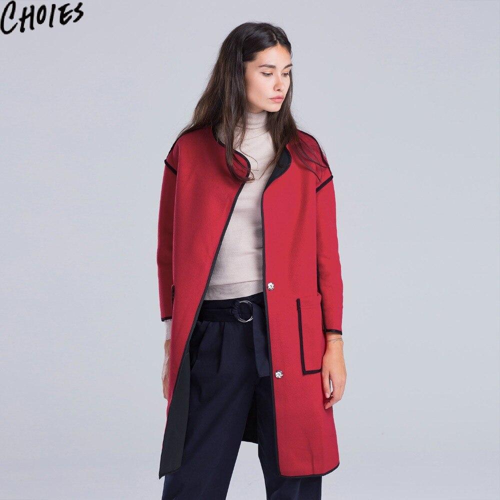 Black Tweed Coat Promotion-Shop for Promotional Black Tweed Coat ...