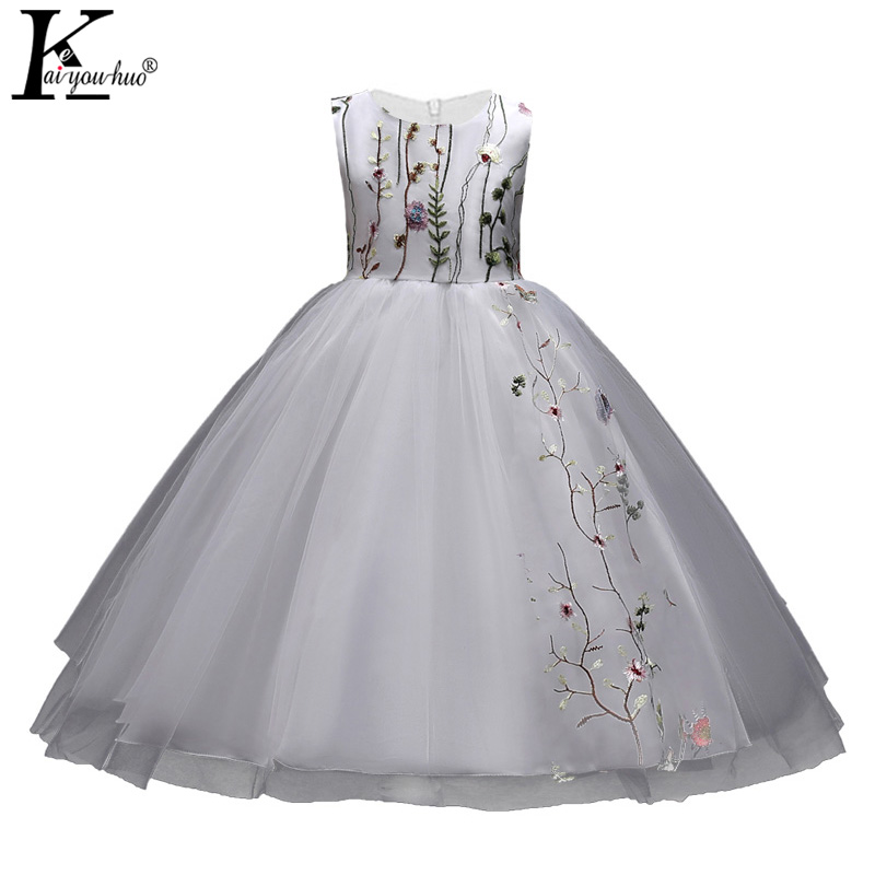 2018 Summer Girls Dress Children Clothing Party Costumes For Kids Dresses For Baby Girls Clothes 5 6 7 8 9 10 11 12 13 14 Years