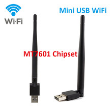 Mini MT7601 USB WiFi Wireless with Antenna LAN Adapter for Digital Satellite Receiver GTMEDIA V7S, V8 Super,V8 NOVA,V9 Super etc(China)