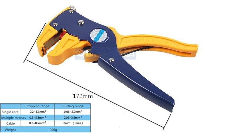 Professional Wire Stripper Crimping Multi Tool