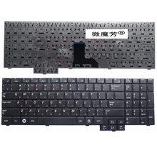 RU For Samsung R519 NP-R519 R719 NP-R719 R618 R538 P580 P530 Black WITH NUMBERPAD Laptop Keyboard Russian