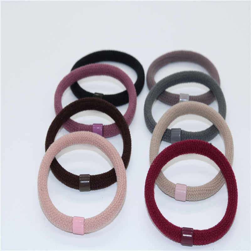 Strong pull continuously foundation head ring to tie up hair rubber band hair lovely hair ring