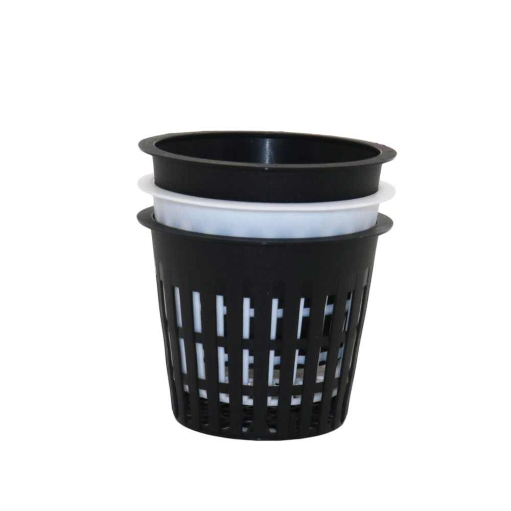 5 Pcs Hydroponic Mesh Pot Vegetable planting basket Soilless cultivation equipment Aeroponic Plastic Plant rooter Net Cup