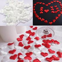 New arrival!100x Wedding Decoration Throwing Heart Petals Table Valentine's Day Party Decor