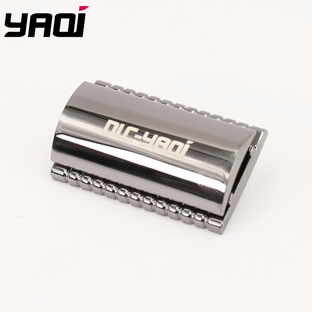 Yaqi Charcoal Color Cobbled Safety Razor Head