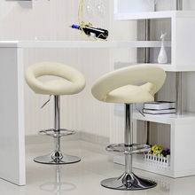Bar stool bar table and chair front desk cashier high stool simple fashion European swivel chair bar stool(China)