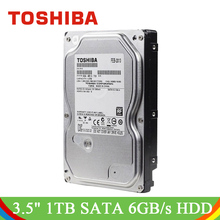 "TOSHIBA Video di Sorveglianza HDD 3.5 ""Internal Hard Disk Drive 1 tb 5700 rpm SATA 6 gb/s 32 mb per DVR NVR CCTV Sistema di Telecamere di Sicurezza(China)"