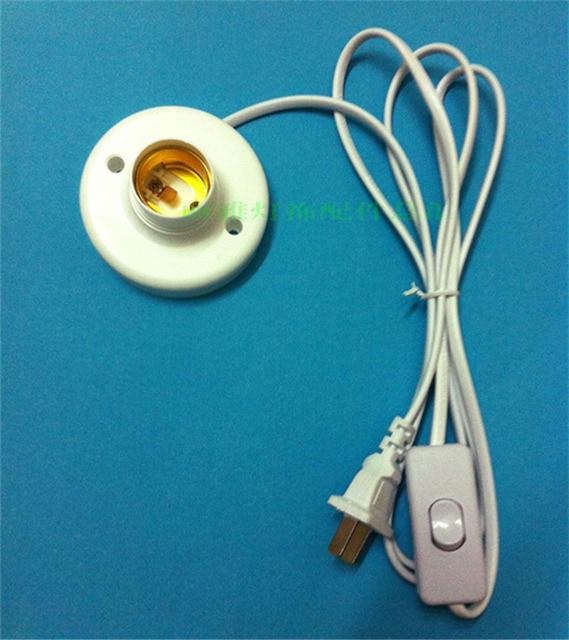 High Quality E27 E26 LED Light Lamp Bulb Base Socket Holder to AC ...