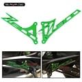 For KAWASAKI Z 800 Z800 2013 2014 2015 2016 Green Foot Peg Heel Plates Guard Protector Motorcycle Accessories