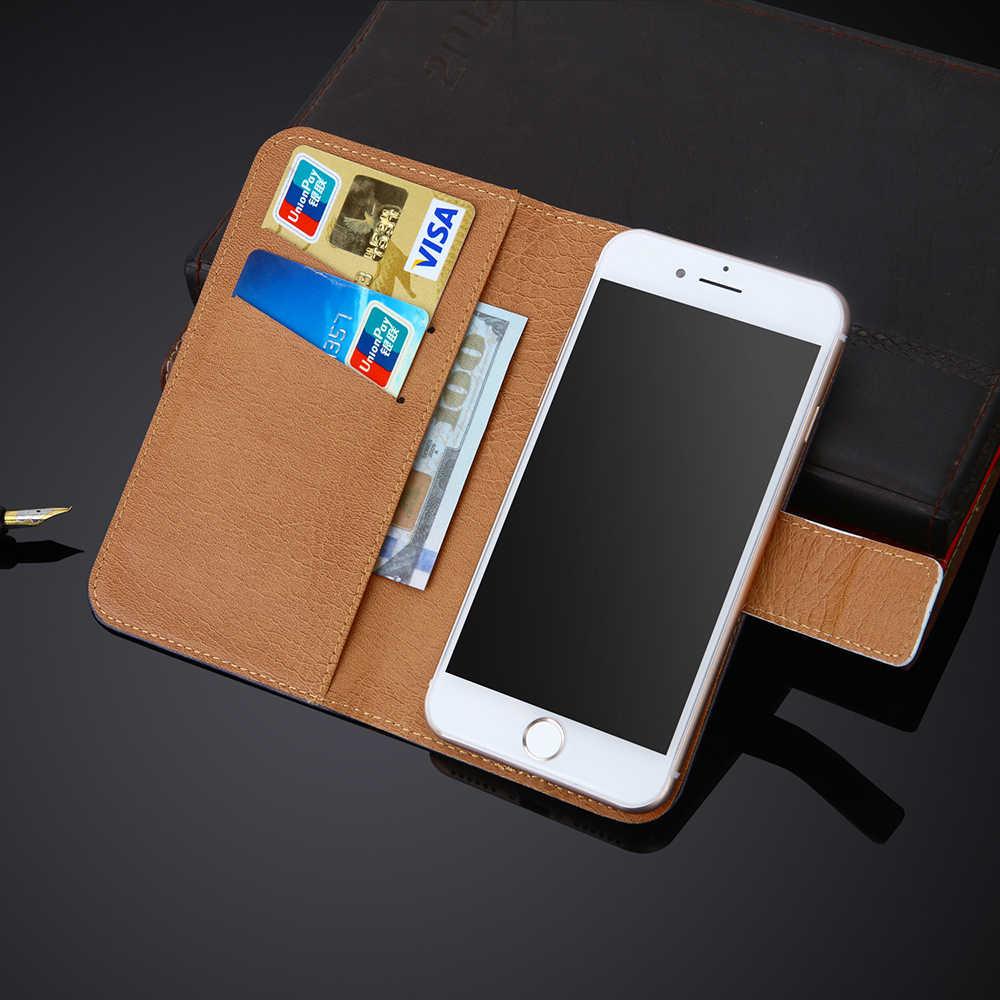 Ailishi用メガフォンログインプラスケース独占電話ログインプラスメガフォン革ケースフリップクレジットカードホルダー財布6色