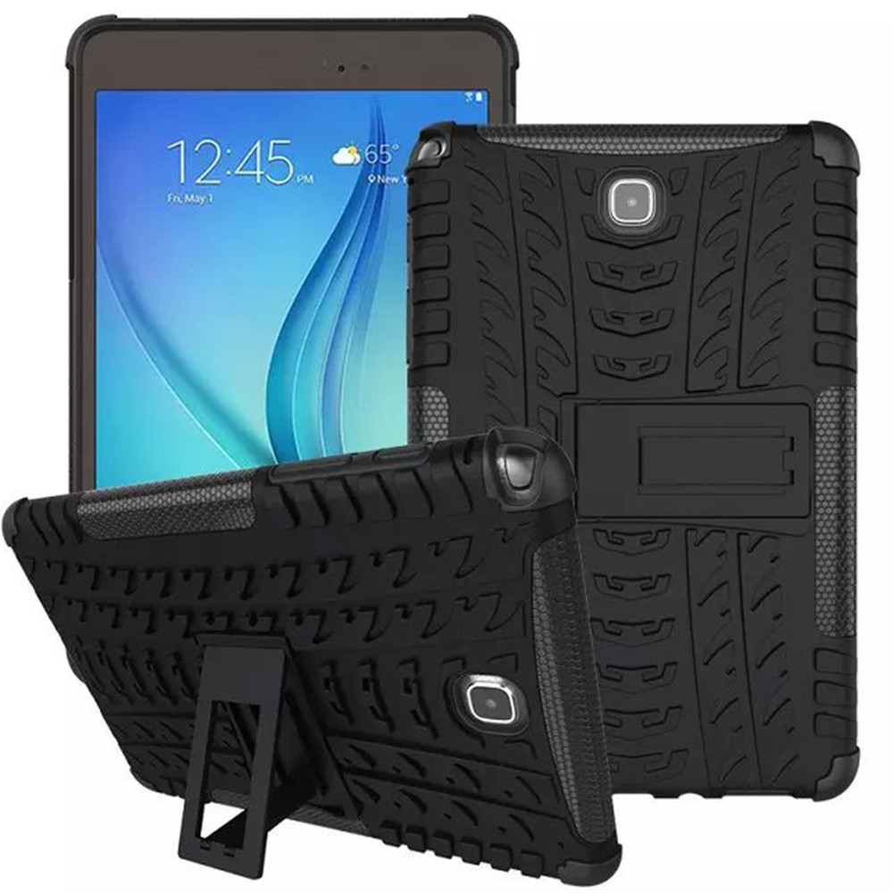 T350 Combo Armor Rugged Heavy Duty Cover Case For Samsung Galaxy Tab A 8.0 T350 Tablet Case Shell With Kickstand TPU+PC 2in1