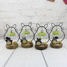 Cartoon Totoro Lamp  Night Light Table Furnishings Childrens Hayao Miyazaki My neighbor