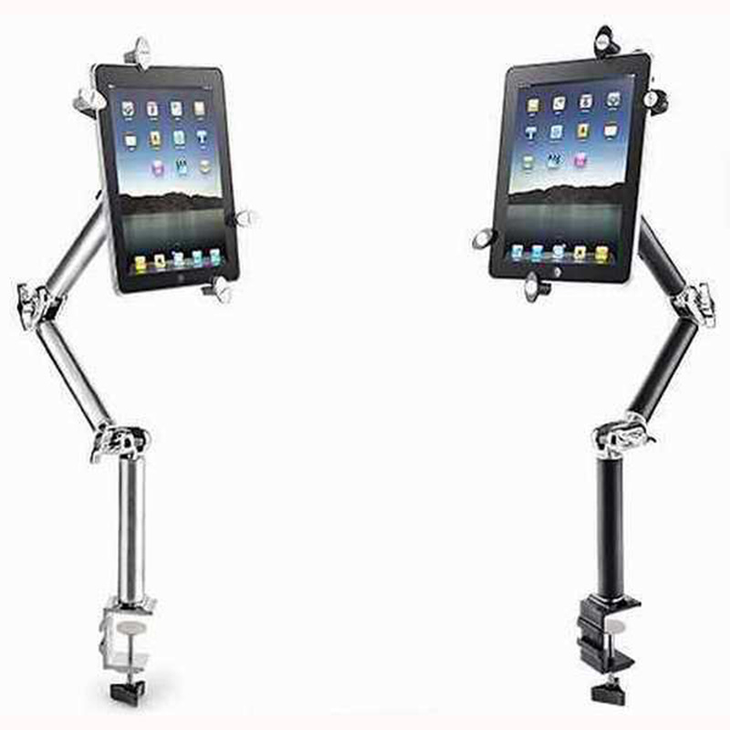 Multifunction 360 Degree Flexible Scalable Arm Tablet Phone Car Stand for Iphone Ipad Lounger Bed Desktop Tablet Holder Stands 360 degree roating flexible phone holder stand for mobile long arm holder bracket support for bed desktop tablet xxm8