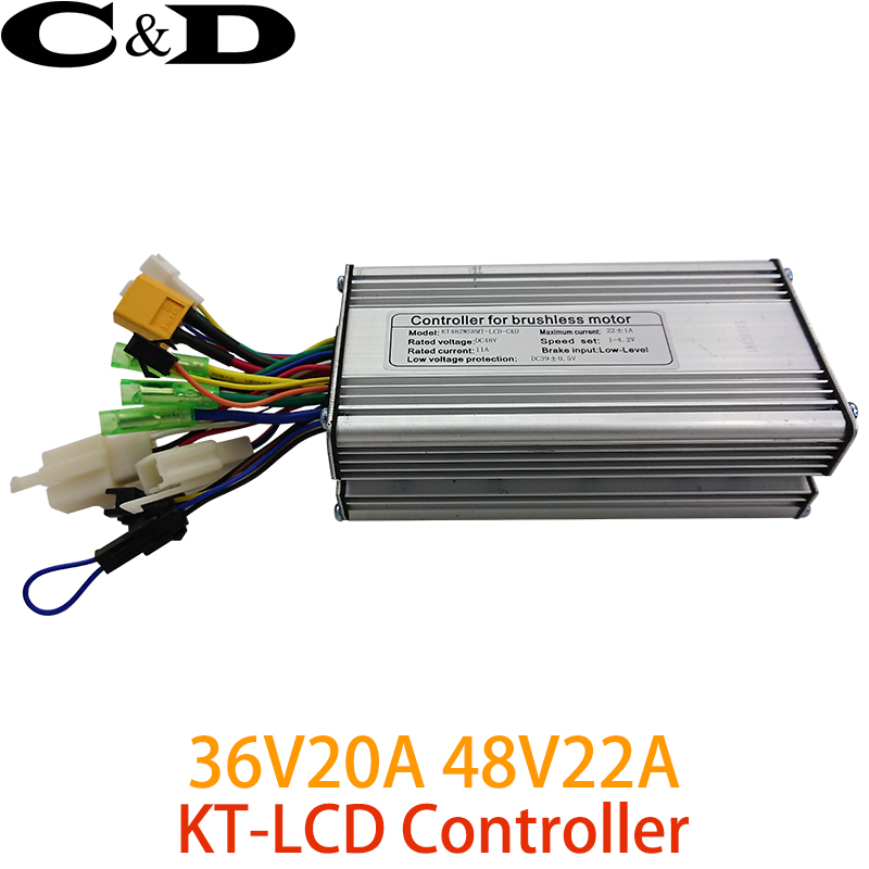 36V//48V 250W 14A 6FET ebike Electric Bicycle Brushless Motor Controller with LED